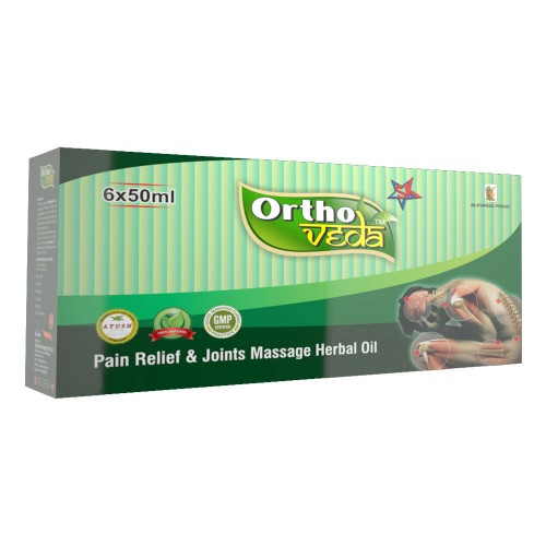 Ortho Veda Pain Relief & Joints Massage Herbal Oil